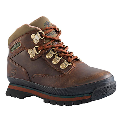 877bed69 Botas Timberland Euro Hiker Mid Leather marrón oscuro bebé | deporvillage