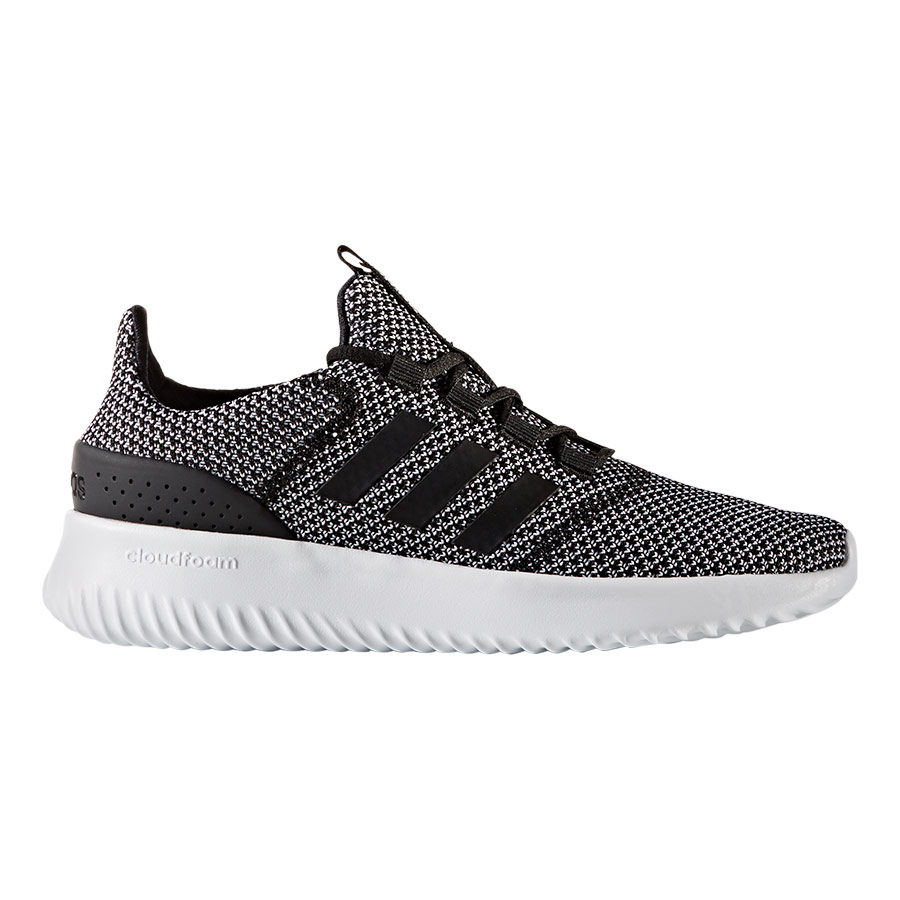 new product b87ad 391fe Zapatillas adidas neo Cloudfoam Ultimate gris negro blanco mujer    deporvillage