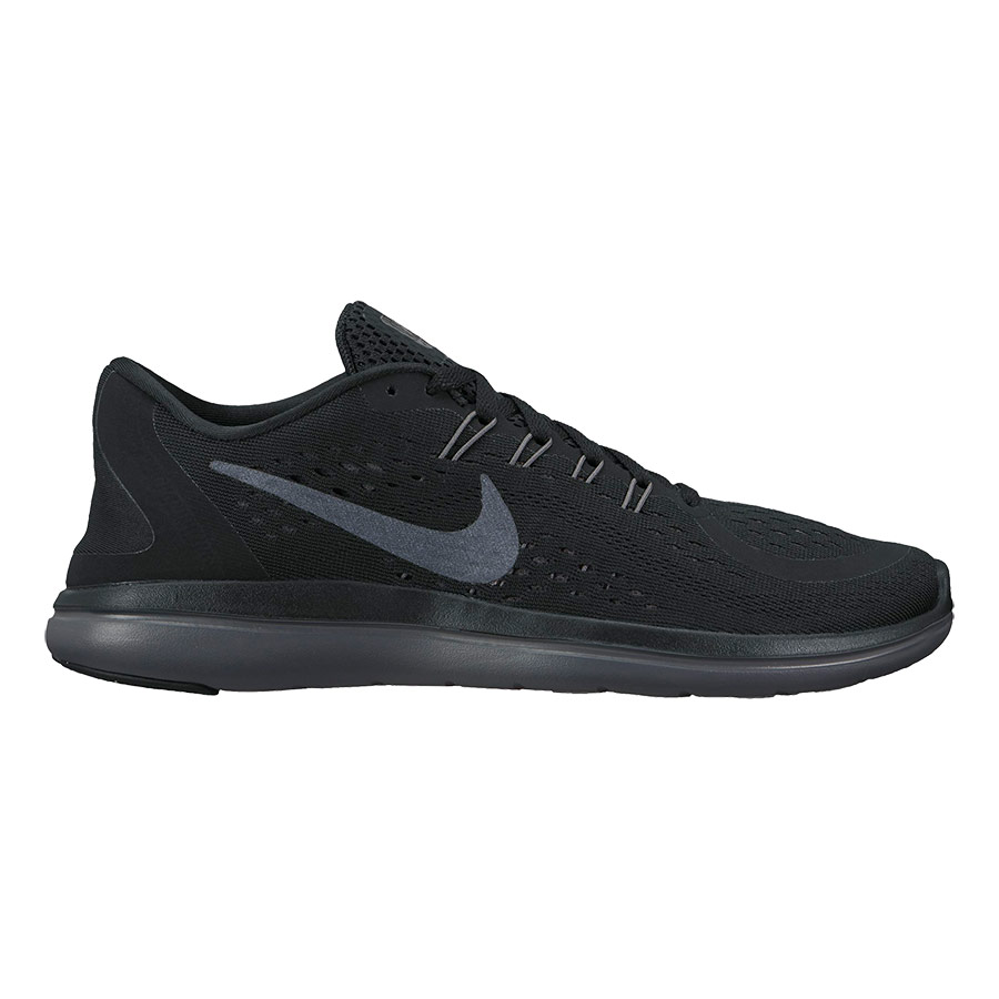 newest collection d5f21 db44b Zapatillas Nike Flex RN negro gris mujer   deporvillage