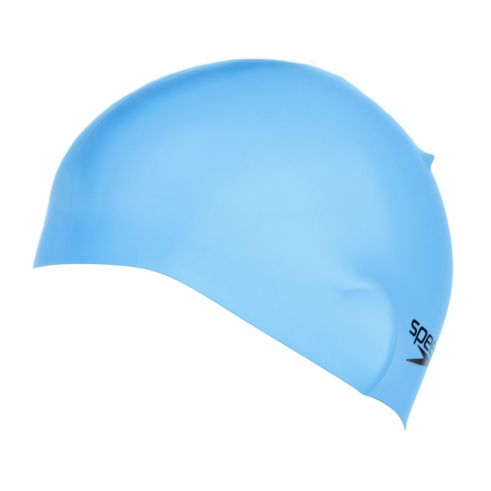 Gorro de nataci n speedo plain moulded azul claro for Gorro piscina