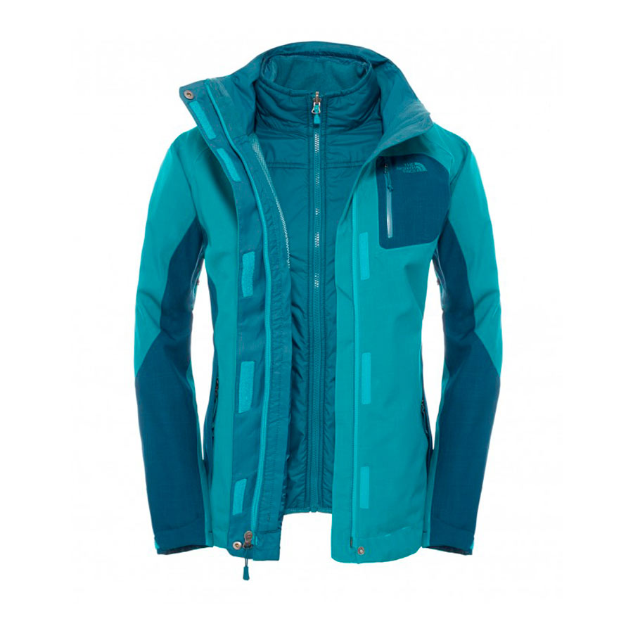 b43c6cfbf87d5 Chaqueta The North Face Zenith Triclimate azul mujer