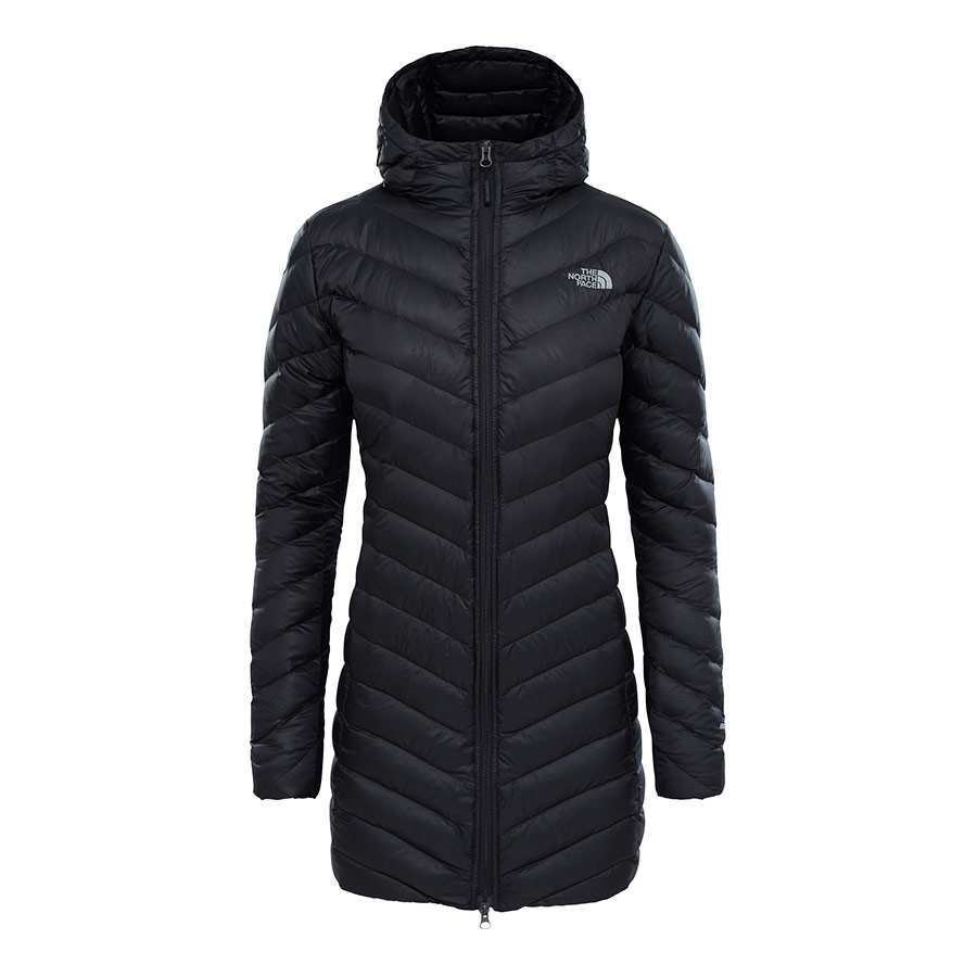 Mujer North Qa6f4wfs Negro Deporvillage Trevail The Parka Chaqueta Face wEqYw