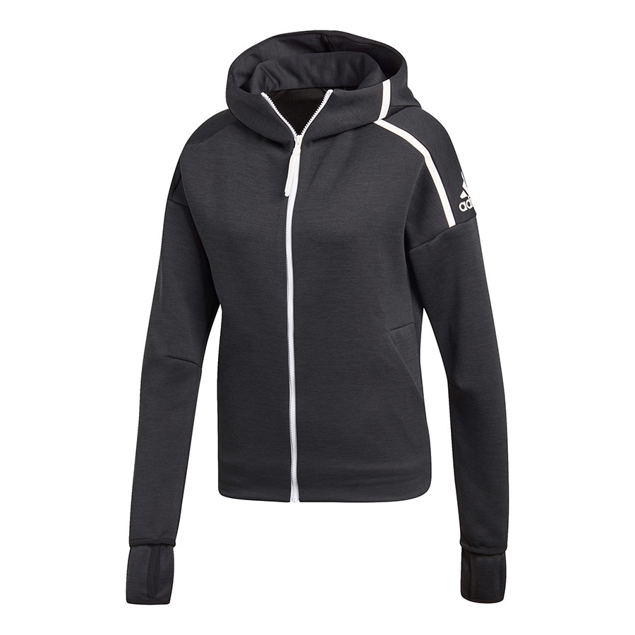 Release Z Adidas Mujer e Sudadera Hooded n Deporvillage Fast zXPvq